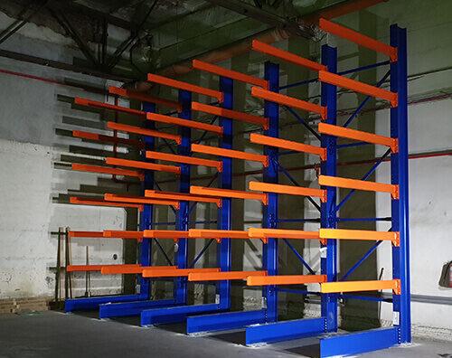 Rafturi metalice Cantilever