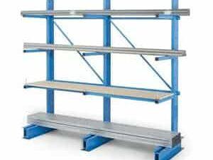 rafturi metalice cantilever greutate medie